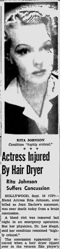 Rita Johnson new story