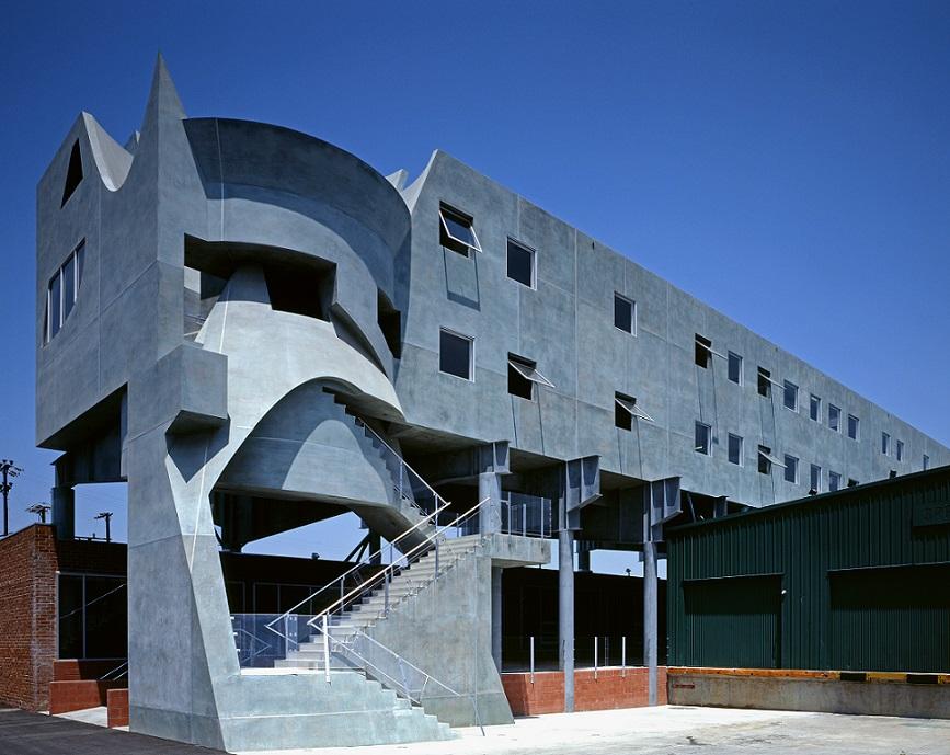 Eric Owen Moss Architects, Samitaur, Los Angeles, 1996, © Tom Bonner.