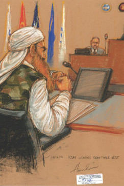 Sketching Injustice: The Official Court Drawings From Guantanamo Bay