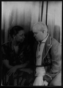 Ethel Waters and Carl Van Vechten