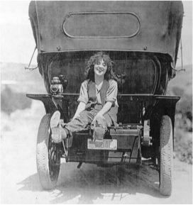 Mabel back of car