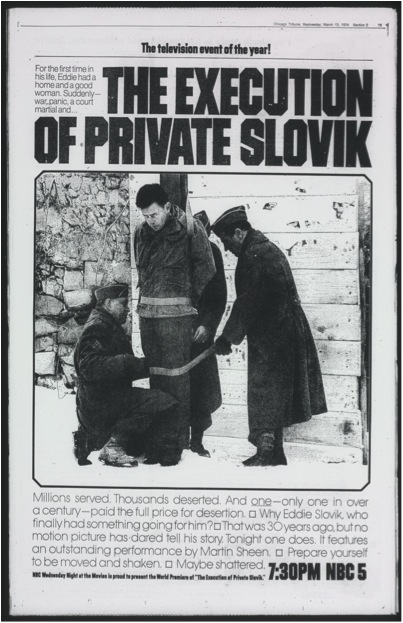 Slovik MOVIE POSTER