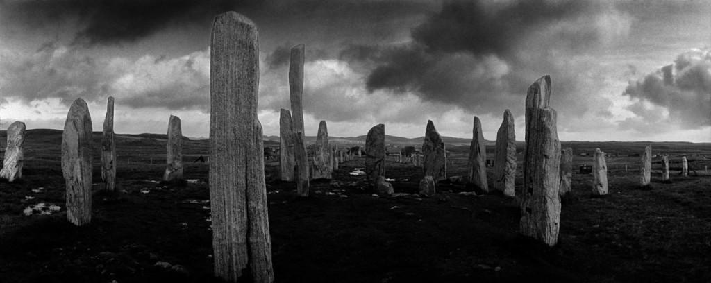 Callanish, Isle of Lewis, Outer Hebrides, Scotland; megalithic stone circle
