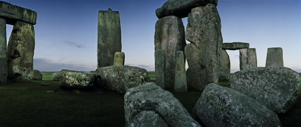 Stonehenge, England; the most celebrated prehistoric monument in the world