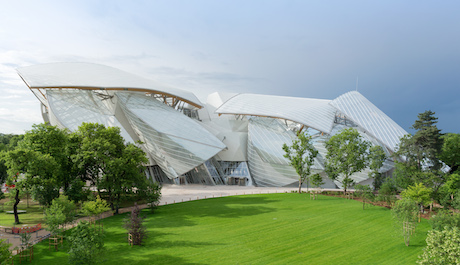2. The Fondation Louis Vuitton © Iwan Baan
